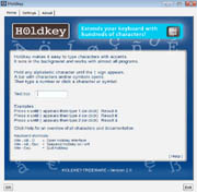 HoldKey Interface