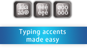 Typing Characters Made Easy!